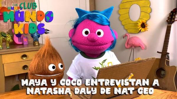 Maya entrevista a Natasha Daly de Nat Geo sobre como escribir de animales | Club Mundo Kids